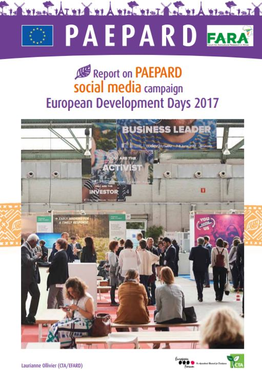 social media campaign  European Development Days 2017