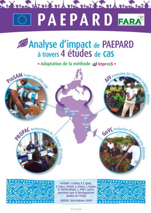 Analyse d'impact de PAEPARD à travers 4 études de cas Utilisation de la méthode impress