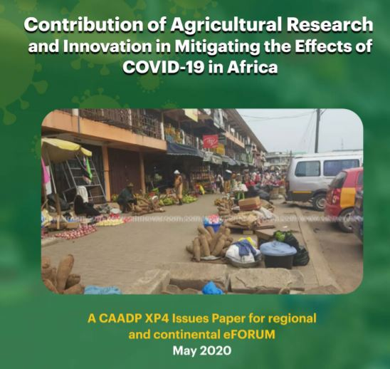 AR4D COVID-19 Response Strategy a CAADP-XP4 Issues Paper for eForum on 20 May 20