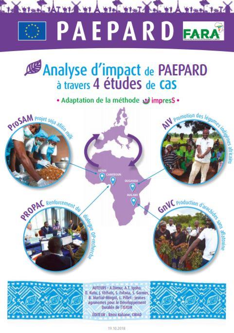 Analyse d'impact de PAEPARD à travers 4études de cas Utilisation de la méthode impress