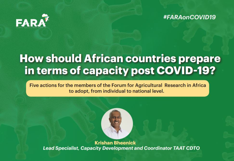 How should African countries prepare in terms of capacity post COVID-19
