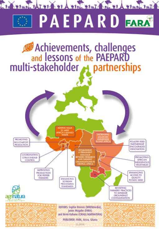 Achievements, challenges and lessons of the PAEPARD  multi-stakeholder partnerships