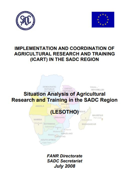 Lesotho Sit Analysis Final Report for ICART