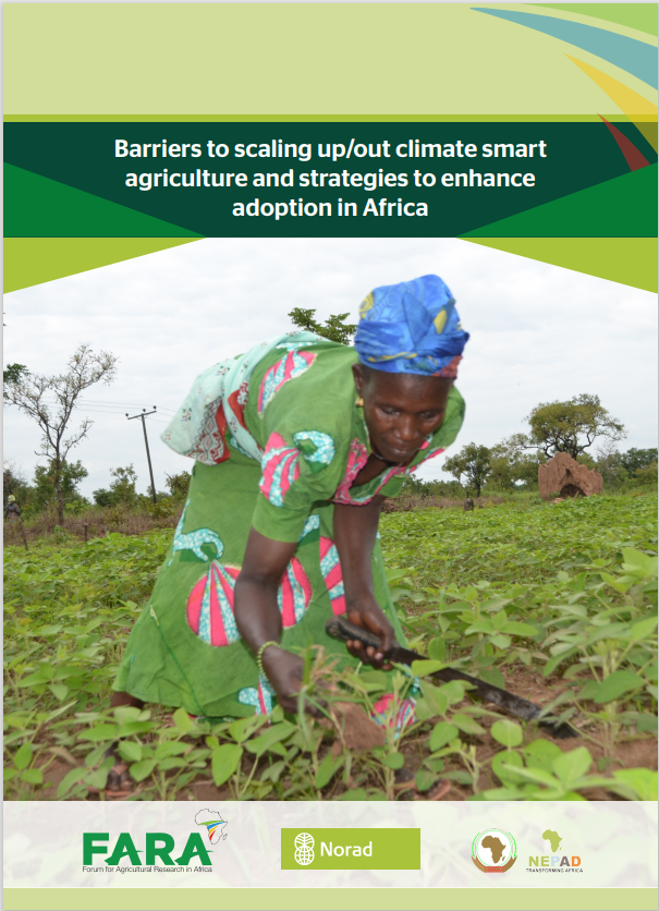 Barriers to scaling up/out climate smart agriculture and strategies