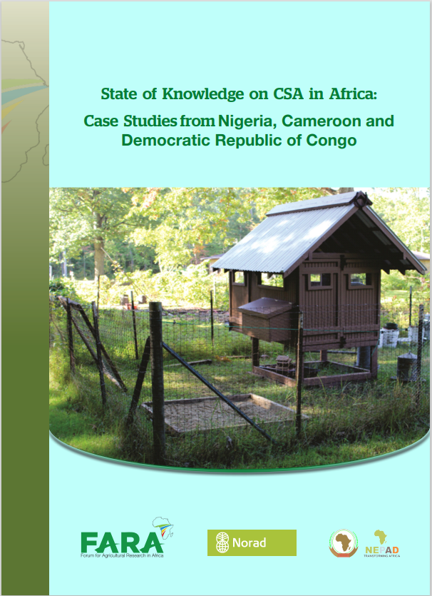 State of Knowledge on CSA: Case study from Nigeria,Cameroon DR Congo
