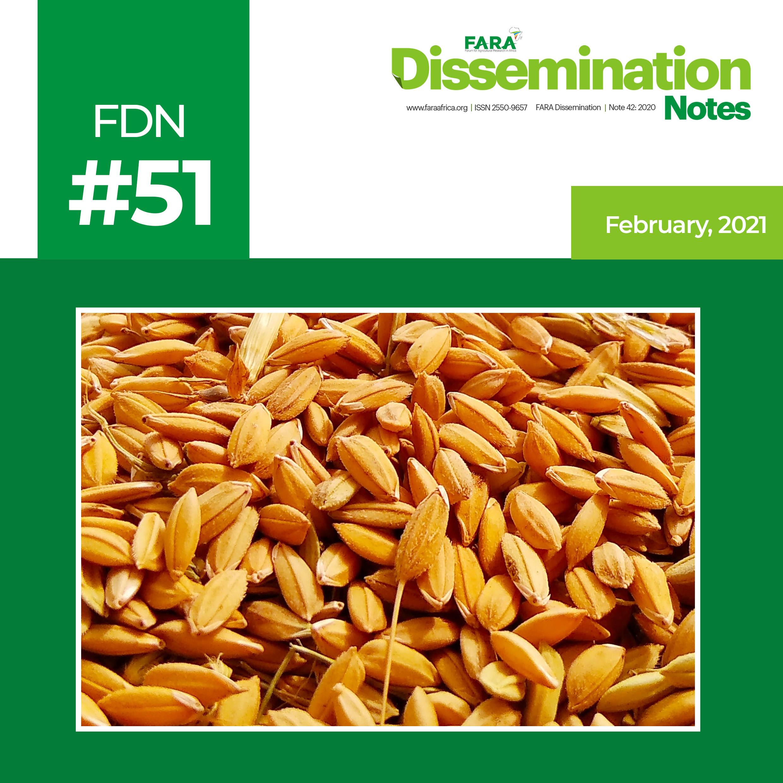 FDN 51_2021 – The case of Wheat Technology -FARA-TAAT