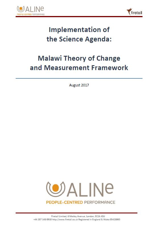 S3A Theory of Change report – Malawi