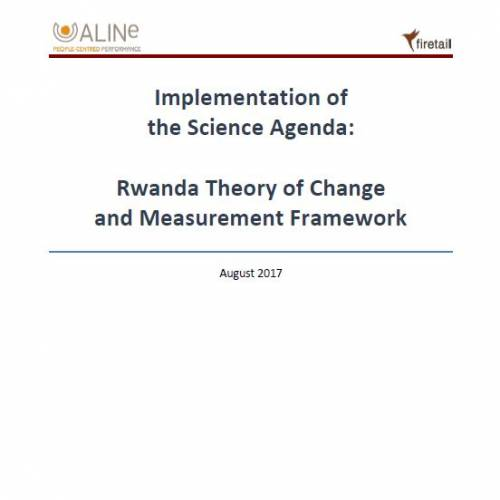 S3A Theory of Change report – Rwanda