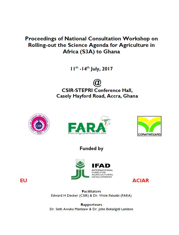 S3A Country consultation Ghana Report