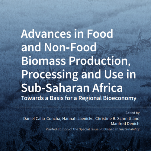 Advances in Food  and Non-Food  Biomass Production, Processing and Use in  Sub-Saharan Africa Towards a Basis for a Regional Bioeconomy