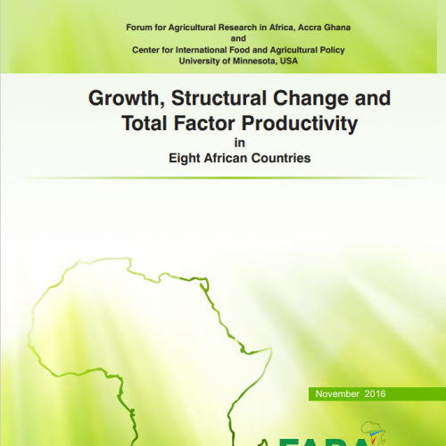 Growth, Structural Change and  Total Factor Productivity  in  Eight African Countries